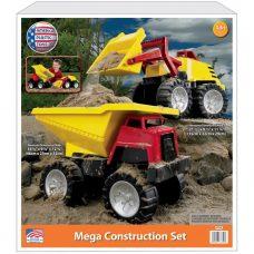Camiones de Construcción Juguete (Playa, Jardín) American Plastic