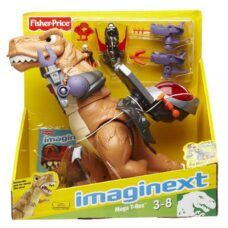 Fisher Price Imaginext - Dinosaurio Mega T-Rex