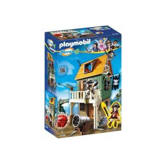 Playmobil - Fuerte Pirata Camuflado con Ruby