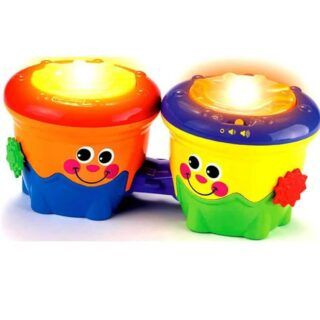Fisher Price Bongos Musicales 2 en 1