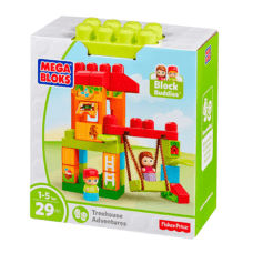 Casita del Arbol Bloques 29 Pcs - Fisher Price Mega Bloks