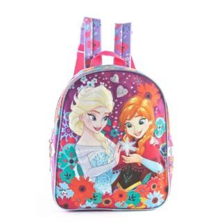 Frozen - Mochila 30 cm Anna y Elsa Frozen (Violeta)