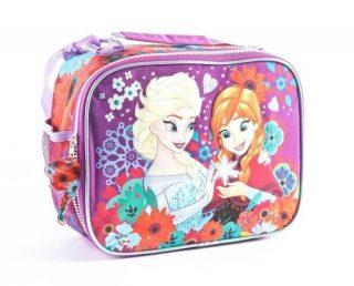 Frozen - Lunchera Térmica Anna y Elsa Frozen (Violeta)