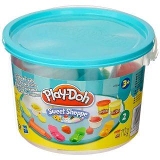 Play Doh - Balde con Masas de Moldear Postres Helados