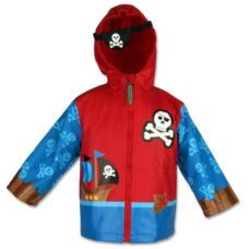 Stephen Joseph - Campera Impermeable Piratas