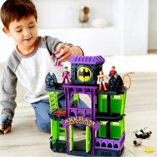 Batman - Castillo de Arkham Ciudad Gótica Imaginext