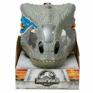 Máscara Electrónica Velociraptor - Jurassic World FMB74