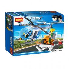 Cogo 4149 - Helicóptero Policía y Ladrón