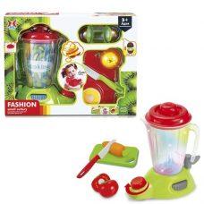 Licuadora con Tabla y Frutas